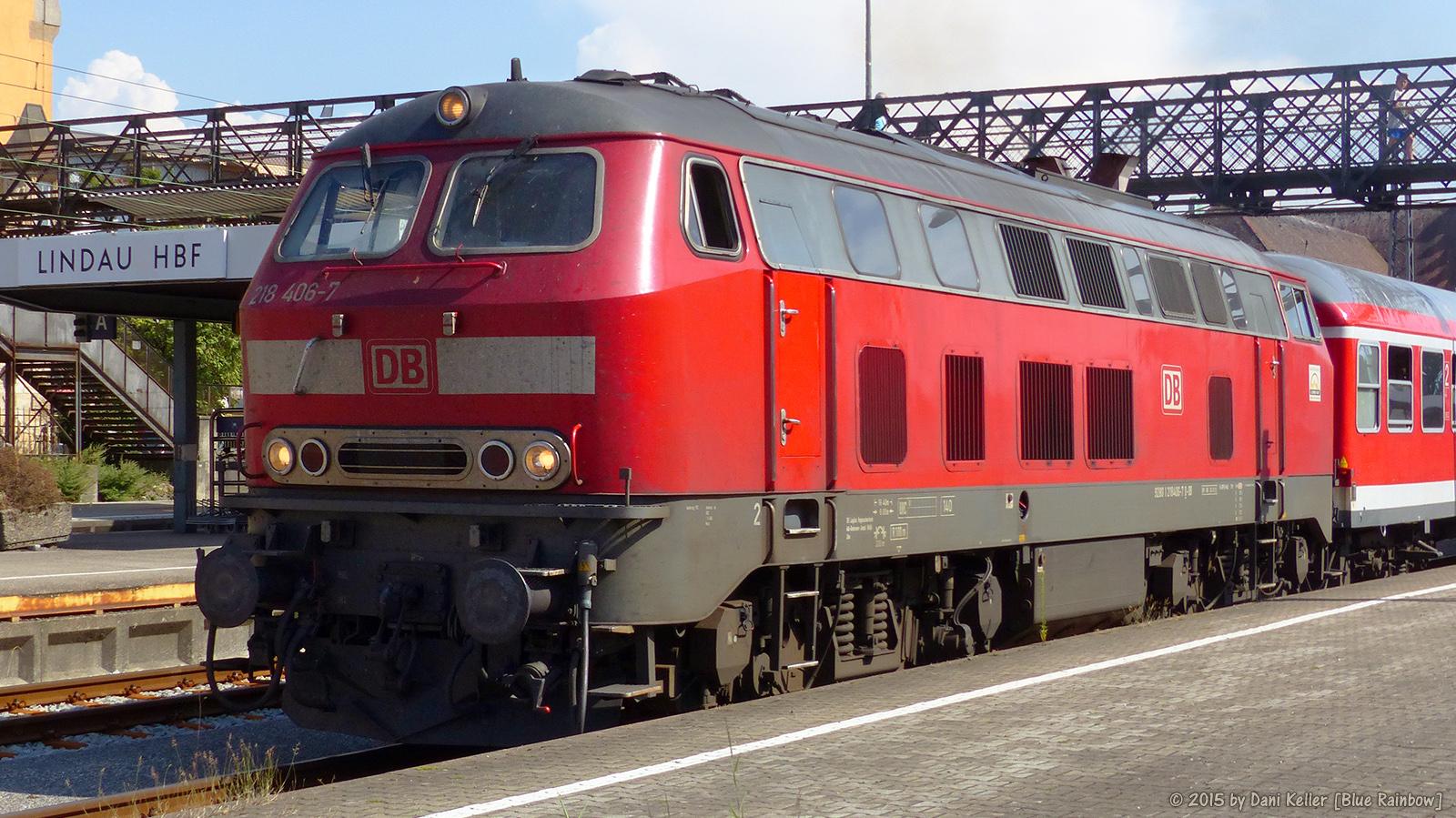 BR 218 in Lindau